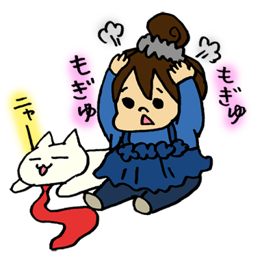 株初心者おだん子(笑